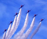Red Arrows  -  Leuchars Air Show  -  September 1990