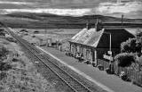 Scottish Railway Stations  -  Scotscalder  -  5 Sep 1999