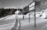 Scottish Railway Stations  -  Upper Tyndrum  -  30 Dec 2000