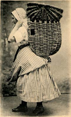 Valentine Postcard - Newhaven Fishwife Costume