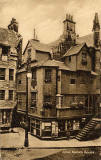 John Knox House, Royal Mile, Edinburgh  -  Post Card  -  WJ Hay