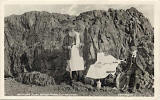 Postcard from an unidentified publisher  -  Refereshments at the top of Arthur's Seat in Holyrood Park, Edinburgh