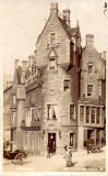Postcard by an unidentified publisher  -  Cockburn Hotel, 1 Cockburn Street, Edinburgh