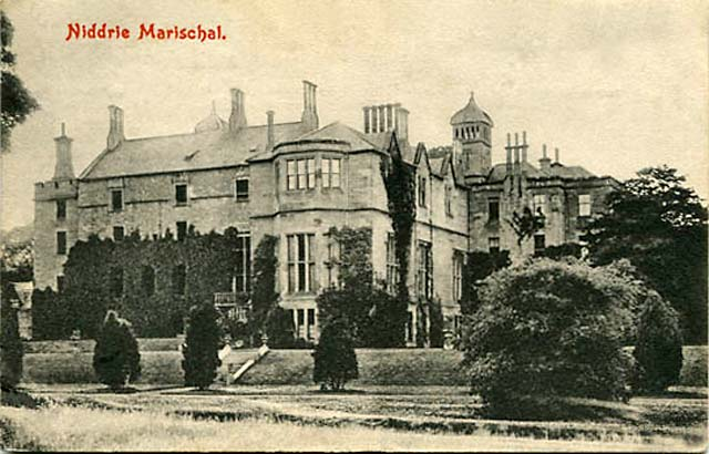 Postcard by an unidentified publisher  -  Niddrie Marischal