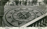 Postcard by an unidentified publisher  -  The Floral Clock in Princes Street Gardens  -  1904
