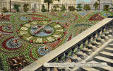 Postcard from an unidentified publisher  -  Floral Clock in Princes Street Gardens, Edinburgh  -  Which year?