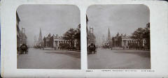 Stereo View of Princes Street by Rotary Photo EC.  Early-1900s