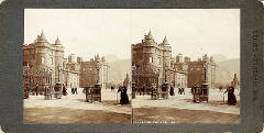 Stereoscopic Views  -  The Waverley Series  -  The Scott Monument