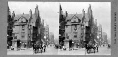 Stereoscopic Views  -  The Waverley Series  -  John Knox House