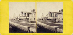 Stereo view by an unidentified photographer  -  The Royal High School