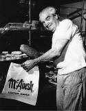 James McAinsh at his Easter Road bakery