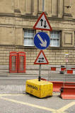 Road Signs in George IV Bridge, Edinburgh