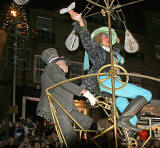 Edinburgh's Hogmanay  -  'The Night Afore'  -  Street Theatre in George Street