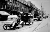 George Street in the 1920s  -  SG7720 and other vehicles