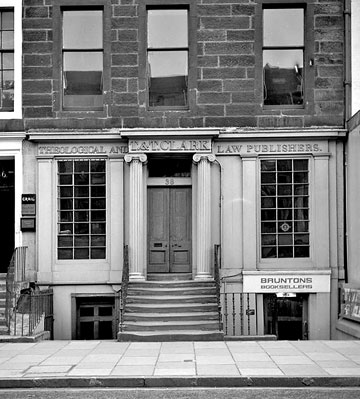 36 (The Grail) + 38 George Street, Edinburgh  -  1970