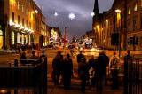L:ooking along George Street from St Andrew Square  -  December 2011