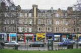 Gorgie Road, Edinburgh  -  Nos 152-176  -  Close to 'Heart of Midlothian' football stadium