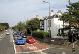Looking down Granton Road from Ferry Road  -  September 2010