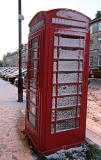 Telephone Kiosk in Great King Street, close to the junction with Dundas Street - November 2010