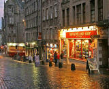The Scotland Shop in the Royal Mile - oppoosite John Knox House