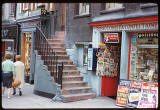 Photograph taken by Charles W Cushman in 1961 - Shop in the High Street, part of Edinburgh's Royal Mile