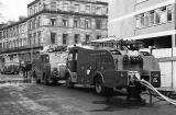 Fire Engines at Hillside Crescent  -  1968