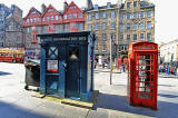 Police Box at Lawnmarket  -  For Sale, May 2012