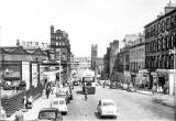 Lothian Road and the old Goods Yard  -  1959