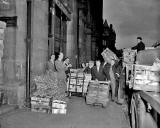 The Market at Market Street  -  Looking to the west towards the foot of Cockburn Street  -  1955