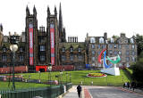 Symbol for the 2012 Paralympic Games  -  The Mound, Edinburgh
