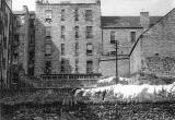 Dumbiedykes Survey Photograph - 1959  -  Waste ground behind the Pleasance
