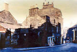 Photographs of Dumbiedykes around 1961-63  -   Pleasance  -  opposite St John's Hill
