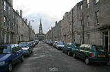 Prince Regent Street,to the west of North Junction Street,  Leith