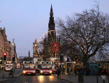Princes Street and the Edinburgh Wheel