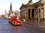 Santa Train in Princes Street  -  Christmas, 2011
