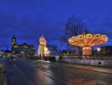 Princes Street - Helter Skelter and Wave Swinger  -  December 2011