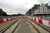 Tram works -  Princes Street  -  View from near Frederick Street  -   October 2011