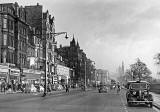Princes Street Lamp Posts in late-1950s  -  Moffat, Photographer and shops