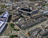 Aerial View of St James Square  -   looking to the south  -  Google Image published 2012