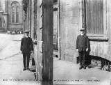 27 Sheriff Brae, Leith,hole in footway -  1910