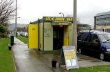 Snack Bar at the western end of South Gyle Crescent  -  March 2006