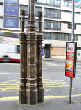 Lamp Post outside the side door of Jenners, South St David Street, Edinburgh