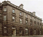 Street Views  -  Police Station in Torphichen Place  -  photographed June 2004