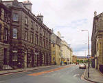 Zoom out to Torphichen Place  -  looking to the south  -  photographed June 2004