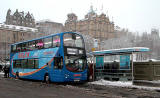 Lothian Buses  -  Terminus  -  City Centre  -  Route 100