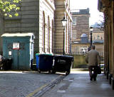 West Register Street  -  Register House and Police Box  -  Police Box for sale, May 2012