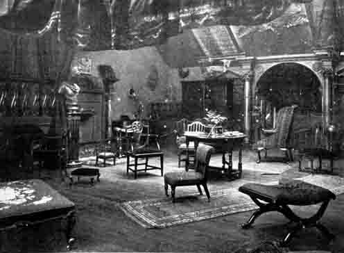 William Crooke's studio  -  Princes Street